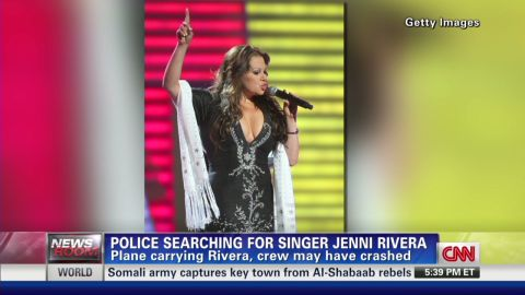 Mexican Singer's Plane Missing _00005626