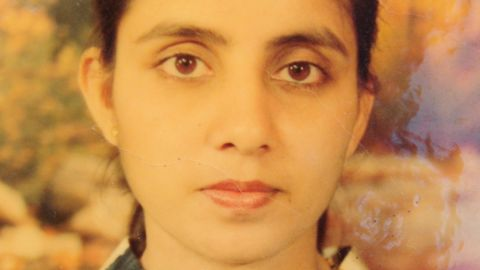 An undated family photograph of Jacintha Saldanha, the Indian-origin nurse who died after being hoaxed by an Australian radio show trying to reach Prince William's wife in London, is shown to journalists in Shirva town, some 400 kilometres (250 miles) from the southern Indian city of Bangalore, on December 8, 2012.
