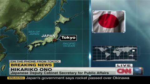 bpr nkorea rocket launch japan reax_00003303