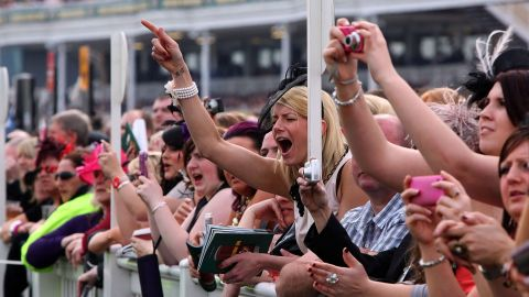 """Horse racing is the second biggest spectator sport in Britain after football, with around 6 million people heading to the track every year. """"People used to focus on the day out, rather than the race,"""" said Simon Bazalgette, chief executive of The Jockey Club."""