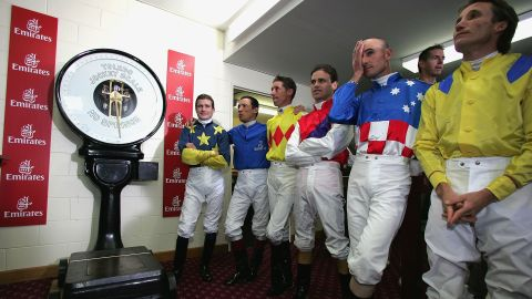Jockeys are under enormous pressure to stick to miniature weights. But some relief is in sight, after the British Horseracing Authority raised the minimum weight by two pounds to 8 stone (50 kg).