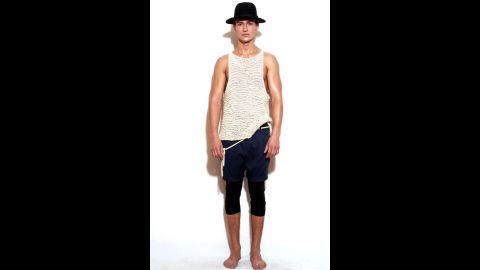 """This men's pantswear statement is called """"meggings."""" Jarrett Bellini says it's just wrong. He's right."""