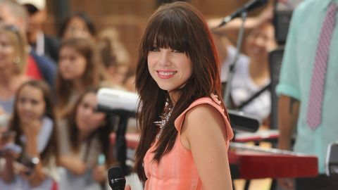 """Carly Rae Jepsen's """"Call Me Maybe"""" spent nine weeks at No. 1 on the Billboard Hot 100. The single became an earworm in the United States shortly after <a href=""""http://www.youtube.com/watch?v=AsBsBU3vn6M"""" target=""""_blank"""" target=""""_blank"""">Justin Bieber and friends</a> uploaded their homemade music video featuring the tune on YouTube."""
