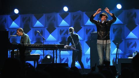 """""""We Are Young,"""" which spent six weeks at No. 1 on the Billboard Hot 100, is the first single off fun.'s second studio album, """"Some Nights."""" The indie band, made up of Nate Ruess, Andrew Dost and Jack Antonoff, was recently <a href=""""http://marquee.blogs.cnn.com/2012/12/06/fun-dan-auerbach-frank-ocean-lead-grammy-nods"""" target=""""_blank"""">nominated for six Grammy Awards</a>, including song of the year."""