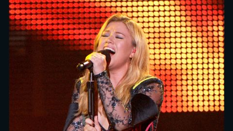 """The newly engaged Kelly Clarkson's single """"Stronger (What Doesn't Kill You)"""" was released in January. It's the artist's third single to reach No. 1 on the Billboard Hot 100, following """"A Moment Like This"""" and """"My Life Would Suck Without You."""""""