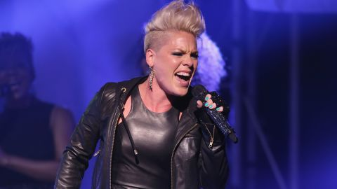 """Pink released """"Blow Me (One Last Kiss),"""" the first single off her sixth studio album, """"The Truth About Love,"""" in July. She <a href=""""http://www.mtv.com/videos/misc/832106/blow-me-one-last-kiss-live.jhtml"""" target=""""_blank"""" target=""""_blank"""">performed the song</a> at the 2012 MTV Video Music Awards in September with help from some dancing lips."""