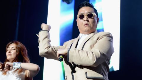 """South Korean artist Psy's """"Gangnam Style"""" music video became the <a href=""""http://edition.cnn.com/2012/11/24/showbiz/gangnam-style/index.html?hpt=hp_t3"""" target=""""_blank"""">most-watched YouTube video</a> of all time in November. Psy recently <a href=""""http://www.cnn.com/2012/12/07/showbiz/psy-apology-irpt/index.html?iref=allsearch"""" target=""""_blank"""">apologized</a> for rapping anti-American lyrics during a 2004 performance that surfaced on CNN's iReport, among other outlets."""