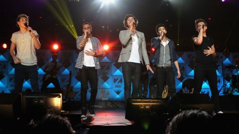"""No. 10 on the list is One Direction's """"What Makes You Beautiful."""" The track is the first single off the English-Irish boy band's debut studio album, """"Up All Night."""" Their second studio album, """"Take Me Home,"""" was released in November 2012."""
