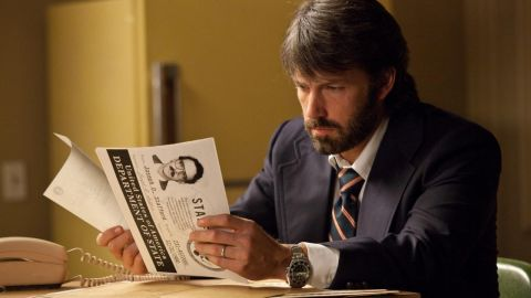"""Ben Affleck plays the lead role of Tony Mendez in """"Argo,"""" which he also directed."""
