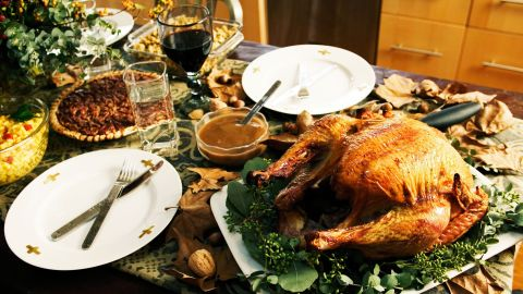 A table laden with holiday food offerings can present a minefield for people with food allergies.
