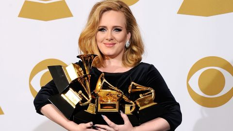 """In the music industry over the past year or so, there's been Adele, and then there's been everyone else. As an example, the British singer has been named <a href=""""http://www.billboard.com/news/the-best-of-2012-the-year-in-music-1008045682.story#/news/the-best-of-2012-the-year-in-music-1008045682.story"""" target=""""_blank"""" target=""""_blank"""">Billboard magazine's """"Top Artist of the Year""""</a> for two years straight, and her disc """"21"""" has reigned as the publication's """"Top Album"""" for the same amount of time."""