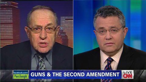 pmt ct shooting alan dershowitz jeffrey toobin security_00004702