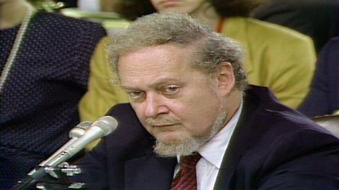 Robert Bork at 1987 Senate confirmation hearings for Supreme court justice
