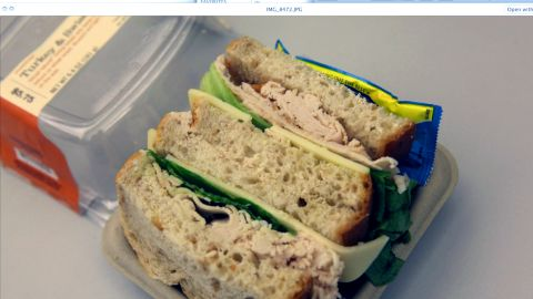 <strong>Starbucks' Turkey & Swiss Sandwich: </strong>With crispy leaf lettuce peeking through, this 390-calorie sandwich seems harmless enough. But a quick ingredient check reveals salt in the turkey breast, the Swiss, and the wheat bread -- 1,140 milligrams of sodium in all.