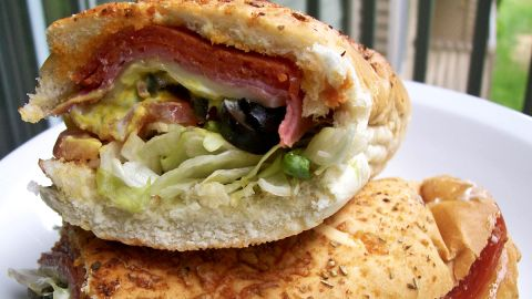 <strong>Subway's Spicy Italian: </strong>Pepperoni and salami -- two notoriously salty meats -- are paired in this sandwich. A 6-inch sub without sauce or cheese has 1,520 milligrams of sodium and 480 calories. A footlong with mayo clocks in at 3,200 mg of sodium and 1,180 calories.