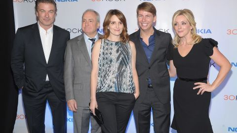 """Cast members say goodbye to """"30 Rock"""""""