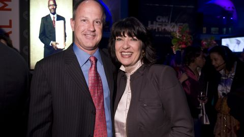 """Christiane Amanpour says Walton """"saw the whole grand experiment of CNN through from its birth."""""""