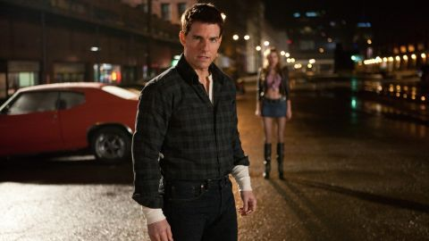 """Tom Cruise's starring turn as Lee Child's Jack Reacher <a href=""""http://marquee.blogs.cnn.com/2011/10/26/tom-cruise-reacts-to-reacher-casting-criticism/?iref=allsearch"""" target=""""_blank"""">initially left some fans worried,</a> but the movie did well enough that <a href=""""http://www.deadline.com/2013/12/jack-reachers-back-tom-cruise-developing-new-bestseller-never-go-back/"""" target=""""_blank"""" target=""""_blank"""">a sequel is on the books.</a>"""