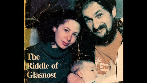 Marina and Lev Furman, with daughter Aliyah, gained international attention as they fought for exit visas to leave the Soviet Union. Here they are on the cover of The B'nai B'rith Jewish Monthly in November 1987.