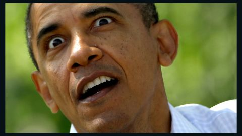"""Obama acts out a part of the book """"Where The Wild Things Are"""" during the White House Easter Egg Roll at the White House on April 9 in Washington."""
