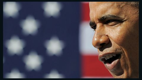 U.S. President Barack Obama speaks in Las Vegas on January 26 about the importance of American workers.