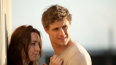 """Saoirse Ronan and Max Irons star as Melanie Stryder and Jared Howe, respectively, in """"The Host,"""" which is due out on March 29. The film adaptation of Stephenie Meyer's sci-fi novel is about parasitic aliens called Souls who invade Earth and possess human minds. When Melanie becomes inhabited by a Soul named Wanderer, they set out in search of Howe."""