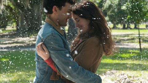 """""""Beautiful Creatures"""" is based on Kami Garcia and Margaret Stohl's novel of the same name. Starring Alden Ehrenreich as 16-year-old mortal Ethan Wate and Alice Englert as Caster Lena Duchannes, the movie is due out on February 13. The two fall for each other despite their differences and a slew of supernatural obstacles."""