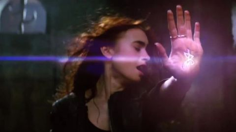 """""""The Mortal Instruments: City of Bones,"""" which is based on the first novel in Cassandra Clare's YA series, stars Lily Collins, Jamie Campbell Bower and Robert Sheehan. The trio's love triangle is just one facet of this supernatural tale about Shadow hunters and demons. The flick will bow on August 23."""