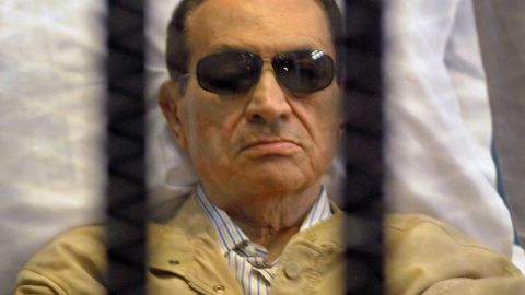 Former Egyptian President Hosni Mubarak was jailed for life following his conviction in June 2012.