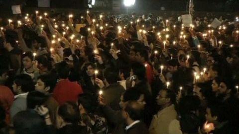 India rape protests Malika Kapur pkg_00002012
