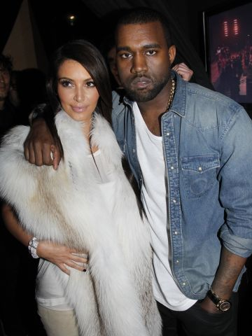 """In March 2012, a month <a href=""""http://marquee.blogs.cnn.com/2012/04/05/kanye-admits-he-fell-in-love-with-kim-k-in-song/"""" target=""""_blank"""">before Kanye told the world he """"fell in love with Kim"""" in a new song</a>, the pair were seen embracing at his Fall/Winter 2012 fashion show in Paris, raising eyebrows about their status."""