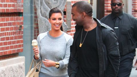 In April 2012, the pair were seen hitting the streets of New York, eating ice cream and laughing with one another.