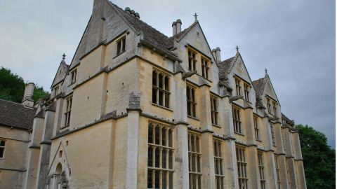 The Woodchester Mansion in the Cotswolds region of England. It was abandoned midconstruction in 1873.