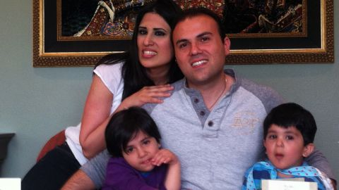 According to multiple news reports, Saeed Abedini a U.S. citizen of Iranian birth has been arrested and charged in Iran while visiting family. The 32-year-old is a convert to Christianity, and a pastor.  He has reportedly been detained in Tehran's notorious Evin prison since late September.  The charges against him are not clear.  In the Islamic Republic of Iran, a Muslim who converts to another faith can face the death penalty.  Abedini is shown here with his wife, Naghmeh Panahi and their two children, a 6-year-old daughter and 4-year-old son.