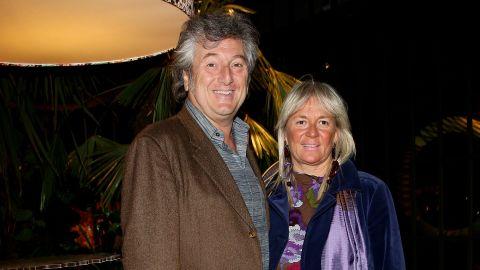 Vittorio Missoni and his wife, Maurizia Castiglioni, attend a party in Milan, Italy, in 2010.
