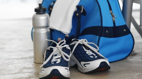 """<strong>7. </strong><strong>Keep your gym bag handy</strong><strong>.</strong> Zehetner wears workout gear under his work clothes at all times. While that may be a bit extreme, you can take advantage of unexpected downtime by keeping a packed gym bag in your car or at work. Canceled meeting? Hit the gym. Kid's soccer practice runs long? Do a few laps around the field. """"When you get home, life sort of takes over and it's harder to get out,"""" Zehetner says."""