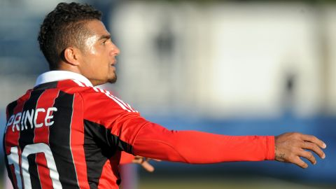 """In January 2013, AC Milan midfielder Kevin-Prince Boateng led his team off the pitch after being subjected to racist chanting. His actions were hailed across the world. But Blatter was more cautious about the issue, refusing to support the move. """"I don't think you can run away, because eventually you can run away if you lose a match,"""" he said in an interview with a newspaper in the UAE. """"This issue is a very touchy subject, but I repeat there is zero tolerance of racism in the stadium; we have to go against that."""" Others, like AC Milan president Silvio Berlusconi, have disagreed with him. """"I am of the opposite view (to Blatter),"""" said Berlusconi. """"I thanked and congratulated my players for their decision to leave the field."""""""