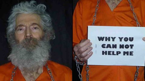 New pictures have been released by the family of American and retired FBI agent Robert Levinson who vanished during a business trip to Iran's Kish Island on March 8, 2007.