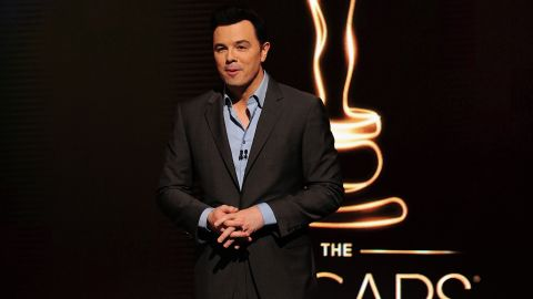 Seth MacFarlane announces the Oscar nominees at the Samuel Goldwyn Theartre on January 10, 2013 in Beverly Hills, California.