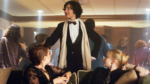 """In his September review, <a href=""""http://www.rollingstone.com/movies/reviews/the-perks-of-being-a-wallflower-20120920"""" target=""""_blank"""" target=""""_blank"""">Peter Travers wrote</a>, """"('The Perks of Being a Wallflower') is stolen, head to tail, by Ezra Miller,"""" and other critics agreed. Yet the 20-year-old actor didn't receive a nomination for his role in Stephen Chbosky's big screen adaptation."""
