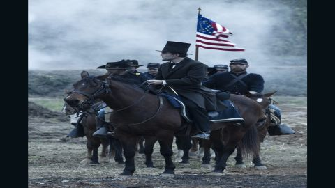 """Daniel Day-Lewis won the best actor Academy Award in 2013 for playing the 16th U.S. president in """"Lincoln,"""" which also took home the production design Oscar. The Steven Spielberg-directed drama also stars British actor Jared Harris as Ulysses S. Grant."""