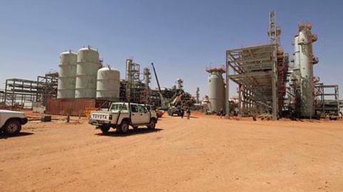 The Algerian gas plant where Islamist militants abducted an unknown number of hostages, including Westerners.