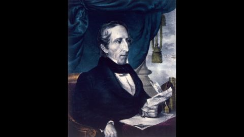 John Tyler, seen here, took the oath of office after the 1841 death of William Henry Harrison. Harrison died after just 32 days in office.