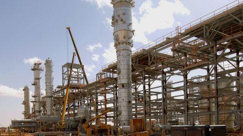 In Amenas gas field in eastern Algeria