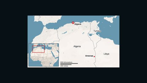Amenas, eastern Algeria