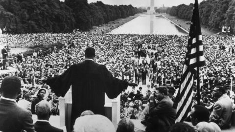 """A growing number of conservatives say MLK was a conservative. Many cite five words from King's """"I Have a Dream"""" speech."""