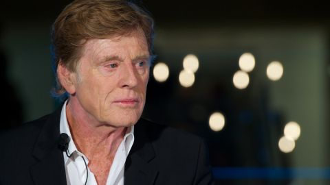 Actor Robert Redford attends Sundance Channel launch cocktail at the Telefonica store on November 26, 2012 in Madrid, Spain. (Photo by Carlos Alvarez/Getty Images)