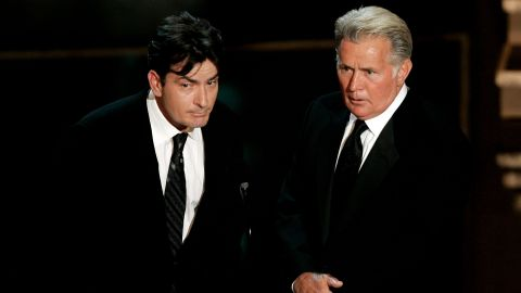 charlie and martin sheen