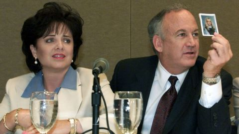Patsy and John Ramsey, pictured in 2000, were thrust into the national spotlight after their daugther was found dead in their home.