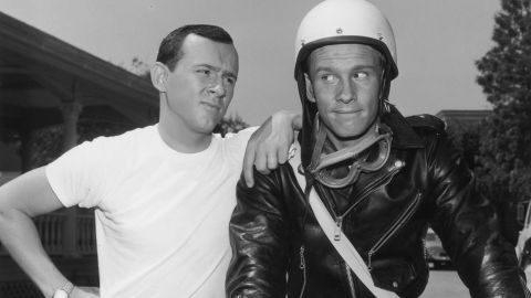 """Sibling rivarly was a running theme in the Smothers Brothers comedy routine in the 1960s. Tommy, right, often told Dick, """"Mom always liked you best."""""""